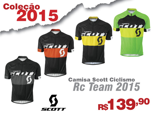 Camisa Scott RC Team 2015 0de3c9dc7